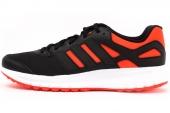 M18587 adidas Duramo 6 Art M 黑红色男子跑步鞋