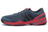 M17859 adidas Rally Oop 灰色男子网球鞋
