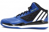 C75589 adidas Grazy Ghost 2 蓝黑色男子篮球鞋