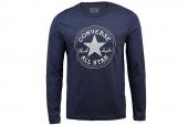 09143C410 Converse蓝色男子长袖T恤