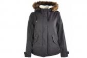 09452C002 Converse黑灰色女子棉衣夹克