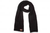 08728C002 Converse黑色中性针织围巾