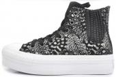 544991 Converse Chuck Taylor All Star 征服冬日系列动物纹女款硫化鞋