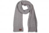 08728C064 Converse寒霜灰色中性针织围巾