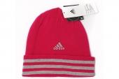 M66752 adidas Ess 3S Woolie 红色中性针织帽子