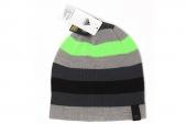M66612 adidas Striped Beanie 多色中性针织帽子