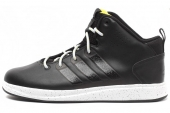 C75386 adidas X-Hale 2014 Mid 黑色男子休闲篮球鞋