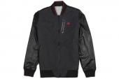 S03560 adidas Cte RV Baseball 黑灰色两面穿男子棒球夹克