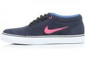 599081-464 Nike Satire Mid 蓝黑色男子休闲板鞋