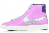 375573-505 Nike Wmns Blazer Mid 开拓者浅样红色女子休闲板鞋