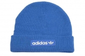 M30732 adidas Woven Logo BE 蓝色中性帽子