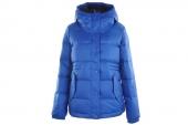 M30451 adidas FEM Down Jacket 三叶草蓝色女子羽绒夹克
