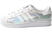 M20904 adidas Superstar 2 W 三叶草贝壳头银白色女子休闲板鞋