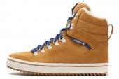 M20762 adidas Honey Hill W 三叶草棕色女子休闲板鞋
