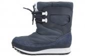 M20857 adidas Snowrush W 三叶草墨水蓝色女子户外雪地靴