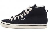 M20772 adidas Honey Hook W 三叶草黑色女子休闲板鞋