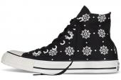 546600 Converse Chuck Taylor All Star 雪花图案女款休闲帆布鞋