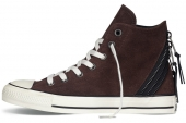 146611 Converse Chuck Taylor All Star Tri Zip 反毛皮拼接中性硫化鞋