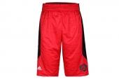 F96273 adidas Rose Chisel Sho 罗斯系列红色男子篮球短裤