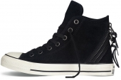 146610 Converse Chuck Taylor All Star Tri Zip 反毛皮拼接中性硫化鞋