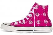 546601 Converse Chuck Taylor All Star 雪花图案女款休闲帆布鞋