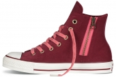 546599 Converse Chuck Taylor All Star Side Zip 反绒侧拉链女款硫化鞋