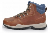 M18502 adidas Rockstack Mid 革棕色男子户外鞋