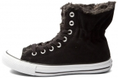 544977 Converse Chuck Taylor All Star Collar Scrunch 冬季女子休闲板鞋