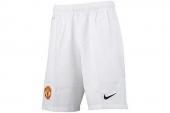 611034-105 Nike足球系列白色男子运动短裤