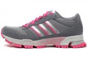 B44286 adidas Marathon 10 TR W 灰色女子跑步鞋