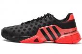 B44439 adidas Barricade 2015 黑红色男子网球鞋