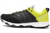 B40097 adidas Kanadia 7 TR M 黑绿色男子跑步鞋