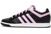 B34203 adidas Oracle VI STR Mid 黑粉色女子网球鞋