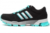 B44287 adidas Marathon 10 TR W 黑色女子跑步鞋