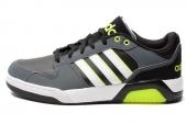 F97957 adidas BB9TIS LO 黑灰色男子休闲鞋