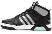 F97845 adidas BB9TIS W 黑色女子休闲鞋