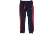S14134 adidas 3S FT C/F Pant 黑色女子针织长裤