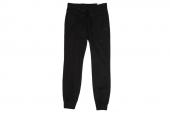 S17731 adidas Ess Cuffed Pant 黑色女子针织长裤