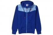 A08337 adidas A1 FZ Hoody 蓝色男子针织夹克