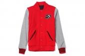 S26508 adidas M CNY Rvsbl JKT 红灰色男子针织棒球服
