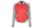 10577C686 Converse红灰色女子针织棒球服
