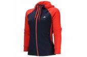 S14129 adidas C/B FZ HOOD 红蓝色女子夹克
