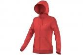 S14106 adidas CNY FZ HOOD 红色女子夹克