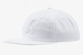 CI4460-100 Nike SB 白色滑板运动帽