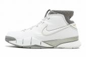 313143-111 Nike Zoom Kobe I ZK1科比1代白灰篮球鞋