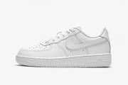 314193-117 Nike Force 1 (PS) 空军一号纯白色小童款