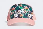 GE5198 adidas CAP G CNY 2020春节主题荷花图案儿童帽