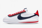 CD7253-100 Nike Cortez Basic SE 阿甘鞋白红蓝