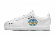 阿甘鞋地球日涂鸦 CI5548-100 Nike Flyleather Cortez QS
