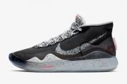 KD12泼墨黑白灰 AR4230-002 Nike Zoom KD12 EP